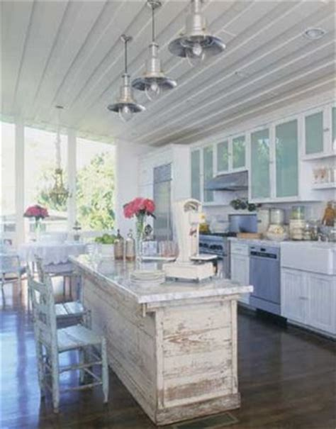 rustic chic kitchen ideas for decorating a shabby chic kitchen rustic crafts White