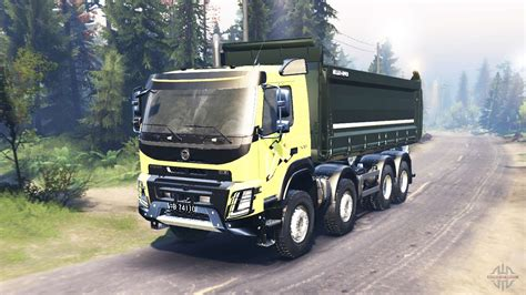 volvo fmx   spin tires