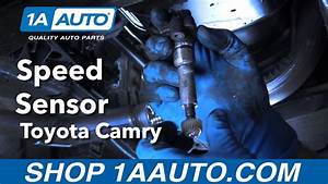 How To Replace Install Speed Sensor 1998 Toyota Camry