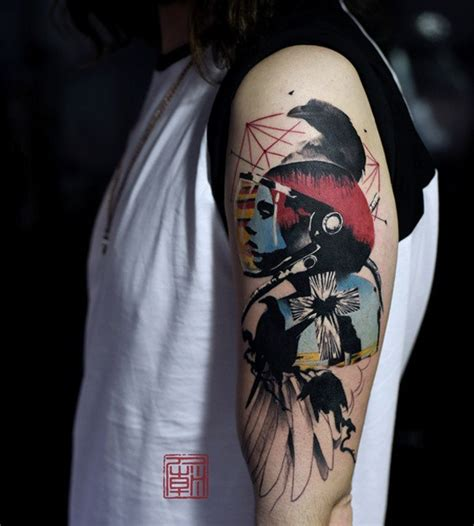 eye catching sleeve tattoos nenuno creative