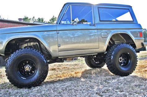buy   ford bronco frame  restored  bronco
