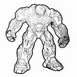 Hulkbuster 출처 Youtu sketch template