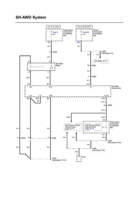 2006 Acura Rl Wiring Diagram by Repair Guides Wiring Diagrams Wiring Diagrams 23 Of