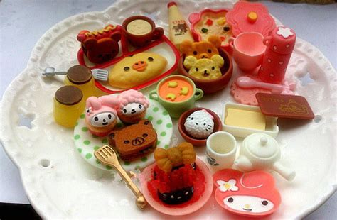 Updated Re Ment Cute Food Miniature For Barbies Bjd
