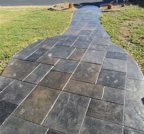 concrete front walkway designs 8 best images about front sidewalk sted on pinterest concrete walkway sted concrete