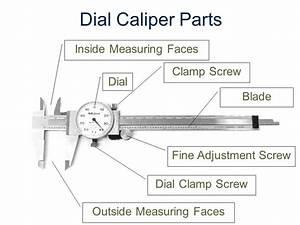 Dial Caliper Parts Diagram