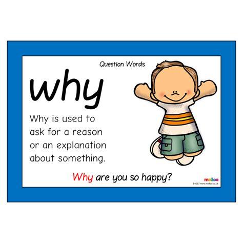 question words eyfs ks1 ks2
