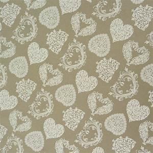 Beschichtete Stoffe Für Taschen : tischdeckenstoff beschichtete baumwolle herze natur wei alle stoffe bastelstoffe wachstuch ~ Orissabook.com Haus und Dekorationen