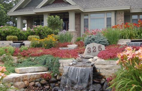 front yard landscaping with rocks ideas 25 rock garden designs landscaping ideas for front yard