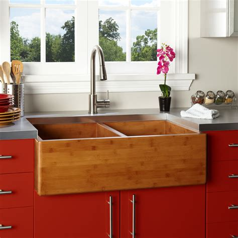 kitchens with farm sinks fresh farmhouse sinks farmhouse kitchen sinks 6617
