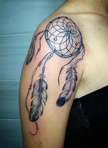 Attrape Reve Tatoo : attrape r ve paule droite tatouages pinterest ~ Nature-et-papiers.com Idées de Décoration