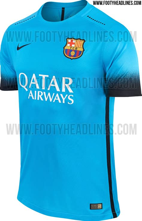 jersey barcelona home 05 original fc barcelona 15 16 third kit released footy headlines
