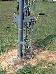 Telescoping Antenna Mast Tower