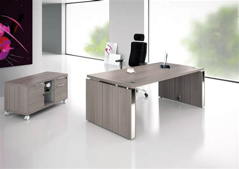 pied de bureau design bureau direction prestige pied ruban et table de