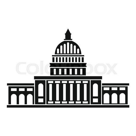 White House Clip White House Clipart Simple Collection