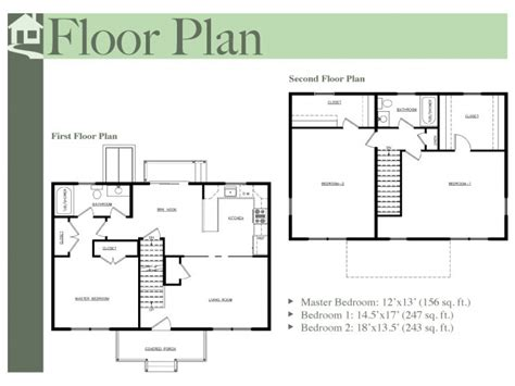 two colonial house plans two colonial floor plans colonial floor plans