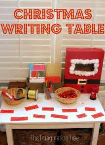 christmas literacy activity post office writing table writing table christmas post and post