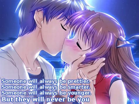 anime kiss in anime love images and wallpaper