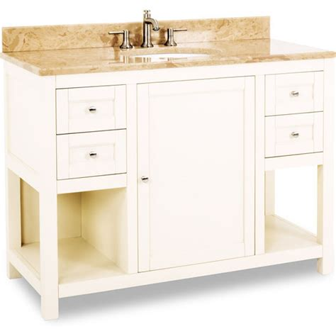 48 inch white bathroom vanity without top jeffrey astoria modern bathroom vanity with
