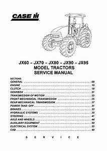 Case Ih Jx95 Tractor Service Repair Manual By 1634368