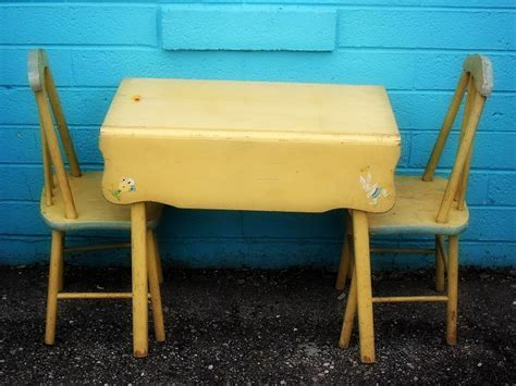 shabby chic childrens table and chairs abode what s in store wednesday