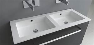 Doppelwaschbecken 100 Cm : doppelwaschbecken bad direkt ~ Orissabook.com Haus und Dekorationen