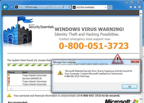 windows 10 help desk number remove tech support scam pop up virus call for support scam