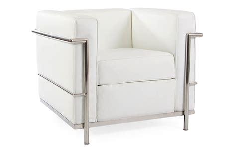 Poltrona Design Bianca : Poltrona Le Corbusier Lc2