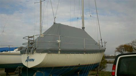 Custom Boat Winter Covers by Custom Marine Boat Yacht Winter Cover 2 Sail Boat