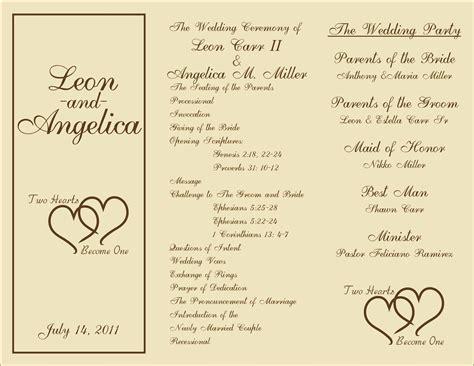 printable wedding programs  pinterest  printable