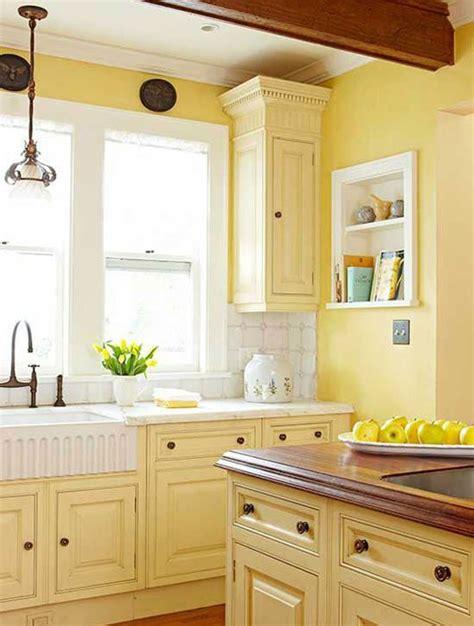 cuisine jaune d 233 coration cuisine jaune