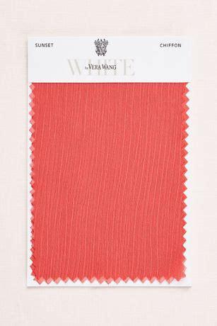 sunset crinkle chiffon fabric swatch davids bridal