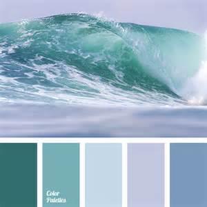Ocean Color Palette Blues