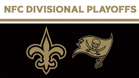 saints  buccaneers  nfc divisional playoffs preview