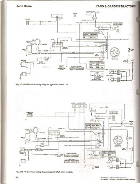 motor wiring 2011 deere wiring diagram l110 75