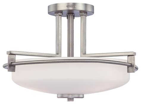 quoizel ty1716an contemporary semi flush mount
