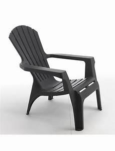 Fauteuil Bas De Jardin : fauteuil adirondack anthracite wilsa fauteuils bas jardin concept ~ Teatrodelosmanantiales.com Idées de Décoration
