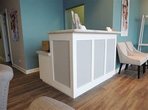 custom reception desk custom made reception desk by parkinsons custom woodworks