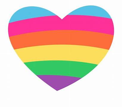 Heart Clipart Rainbow Clip March Monday Learning