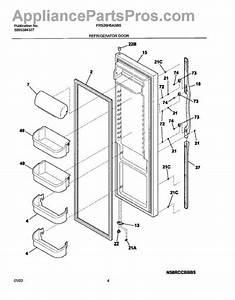 Frigidaire 240323001 Refrigerator Door Bin