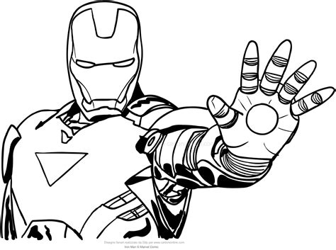 New Iron Man Coloring Pages Design Printable Coloring Sheet