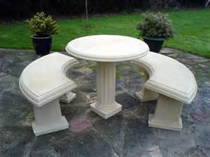 concrete garden furniture best 25 concrete garden bench
