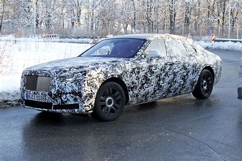 rolls royce ghost spied testing carbuyer