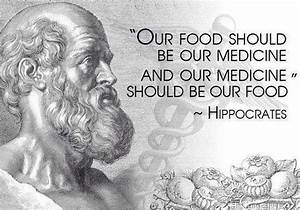 Let your food b... Ancient Medicine Quotes