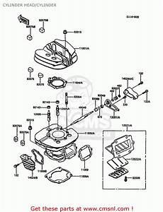 Kawasaki 1982 Kdx 450 Parts