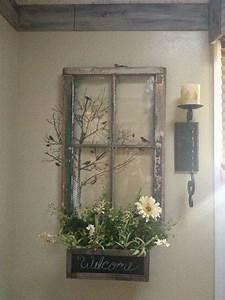 Old window frame decor remesl? vintage