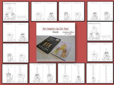 Dr. Seuss's Ten Apples Up on Top Mini Book Craft Freebie ...