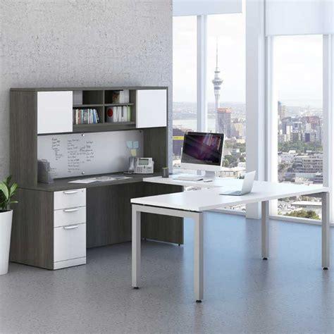 Desk L by Modern U Shaped Desk Storage Workstation Office