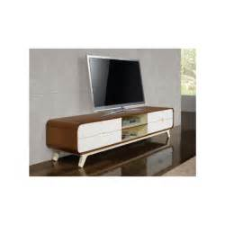 Mirrored Bench Furniture by Walnut And White Tv Unit Arcus Tv Units Online At Zurleys Uk