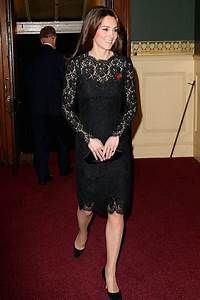 Kate Middleton Black Lace Cocktail Dress at Festival of ...